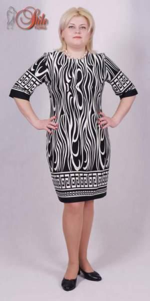 87afa95b9ff Женская одежда больших размеров 48-58. Повседневные и офисные платья оптом  ...